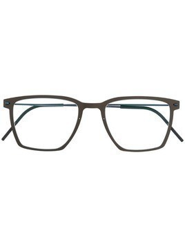 Lindberg square frame glasses - Brown