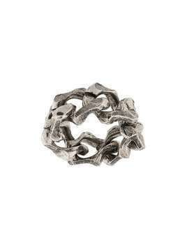 Emanuele Bicocchi cable chain ring - SILVER