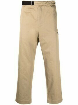OAMC belted straight-leg trousers - Neutrals