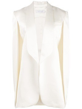 Marina Moscone cape jacket - White