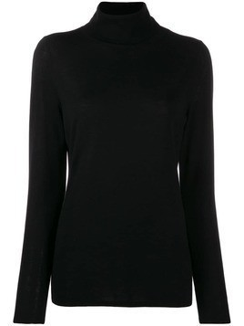 Allude roll neck jumper - Black