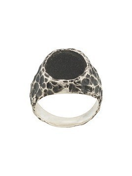 Voodoo Jewels Sigillum brushed ring - SILVER