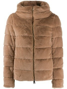 Herno faux-fur padded jacket - Neutrals