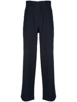 Kent & Curwen loose-fit high-waisted trousers - Blue