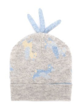 Cashmirino Cashmere knitted hat - Grey