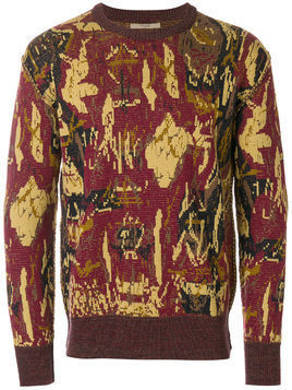 Nuur intarsia knit jumper - Multicolour