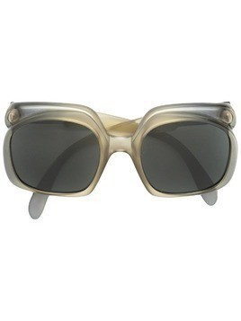 Christian Dior Pre-Owned oversized frame sunglasses - Green