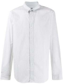 A.P.C. long sleeve striped shirt - White