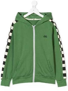 Bandy Button Adkin hoodie - Green
