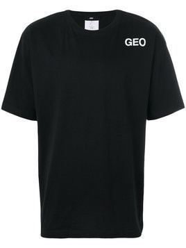 Geo logo T-shirt - Black