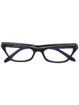 Cutler & Gross cat-eye shaped glasses - Black