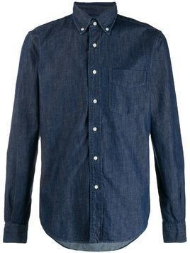 Aspesi long sleeved denim shirt - Blue