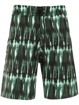 Track & Field swim shorts - Green