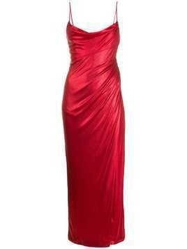 Galvan Mars dress - Red