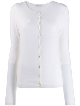 P.A.R.O.S.H. Lillad knitted top - White