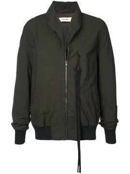 Damir Doma raw collar bomber jacket - Green