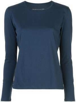 Majestic Filatures crew neck jumper - Blue