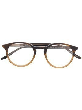 Barton Perreira Princeton round glasses - Brown