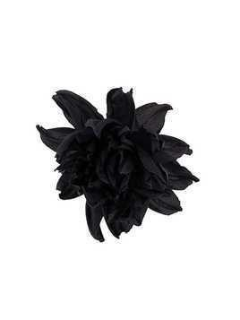 Erika Cavallini large flower brooche - Blue