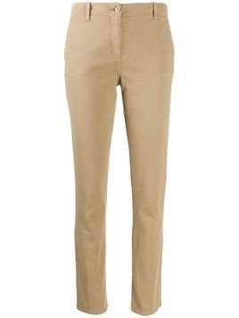Aspesi slim-fit trousers - NEUTRALS