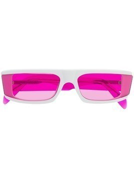 Retrosuperfuture rectangular frame sunglasses - White