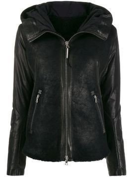 Isaac Sellam Experience Enjouee leather jacket - Black
