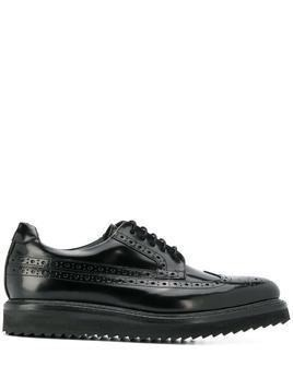 Grenson Gwynith platform brogues - Black