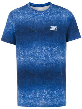 Track & Field printed t-shirt - Blue