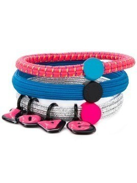 Marc Jacobs 'Love' bracelet set - Pink