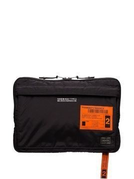 Neighborhood x Porter technical nylon pouch - Black