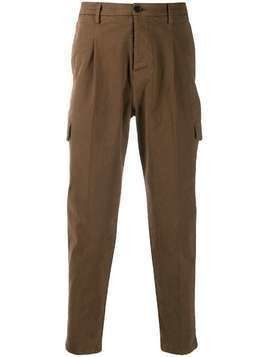Al Duca D'Aosta 1902 twill cargo pants - Brown