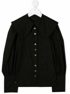 Little Creative Factory Kids Peter Pan collar shirt - Black