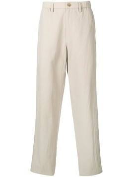 Issey Miyake formal loose fit trousers - Neutrals