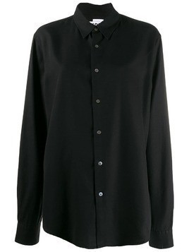 Hope plain button shirt - Black