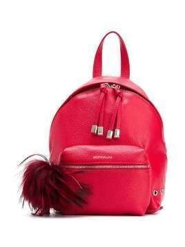 Monnalisa pompom backpack - Red