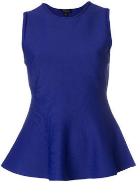 Theory sleeveless peplum top - Blue