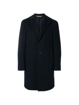 Canali single breasted coat - Blue
