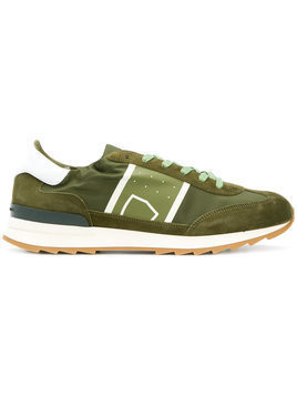 Philippe Model - Toujours sneakers - Herren - Leather/Nylon/Suede/rubber - 44 - Green