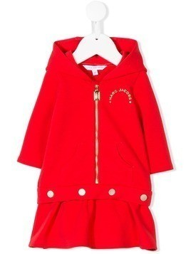 Little Marc Jacobs hoodie dress - Red