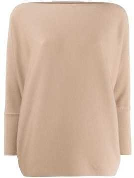 Maison Ullens long sleeve jumper - NEUTRALS