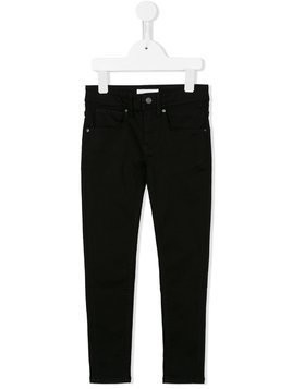 Burberry Kids skinny jeans - Black