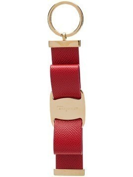 Salvatore Ferragamo Vara bow keyring - Red