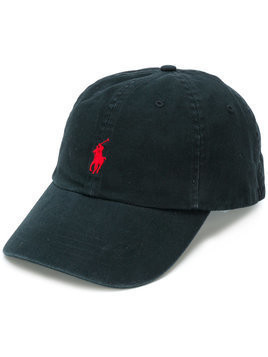 Polo Ralph Lauren - front logo baseball cap - Herren - Cotton - One Size - Black