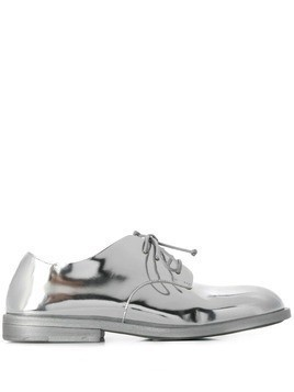 Marsèll metallic lace-up shoes - Silver