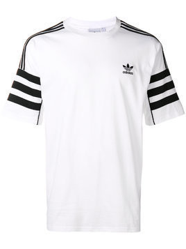 Adidas Authentic logo T-shirt - White