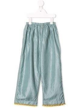 Pero Kids elasticated waist trousers - Blue