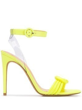 Alexandre Birman heeled knot sandals - Yellow
