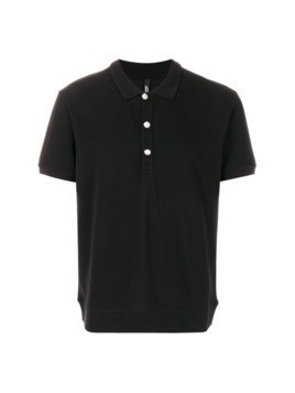 Versus rear printed polo shirt - Black