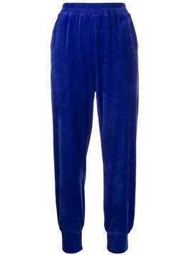 Styland high waisted track pants - Purple
