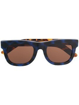 Retrosuperfuture Ciccio angular sunglasses - Blue
